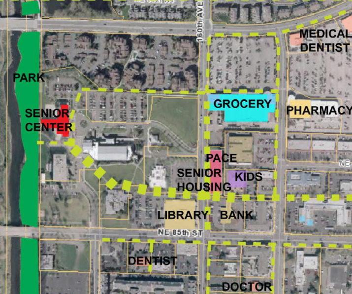 Map of area around Providence John Gabriel House