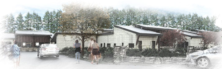 Spiritwood cottages entry sketch