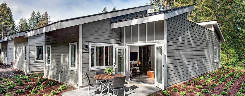Spiritwood exterior with patio