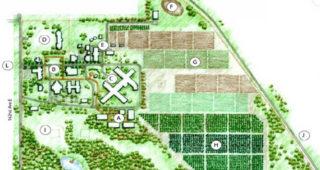 Orting VA Facility master plan drawing