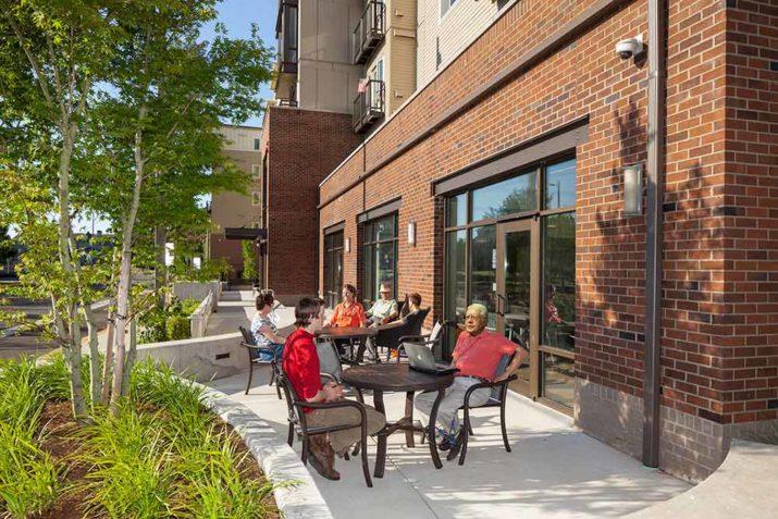 Providence John Gabriel patio